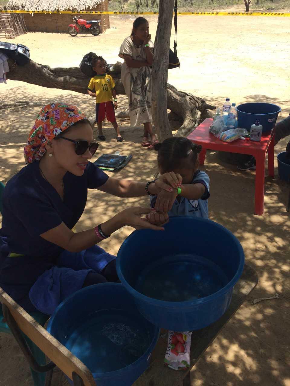 2018 Colombia Sanitation Children